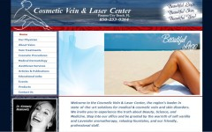 Cosmetic Veins & Laser – Website