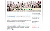 Voters Count website